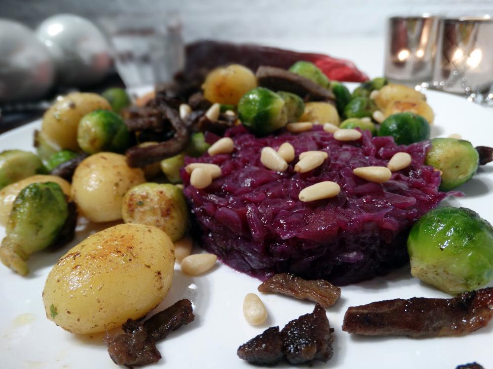 Rundvlees met groente en krieltjes