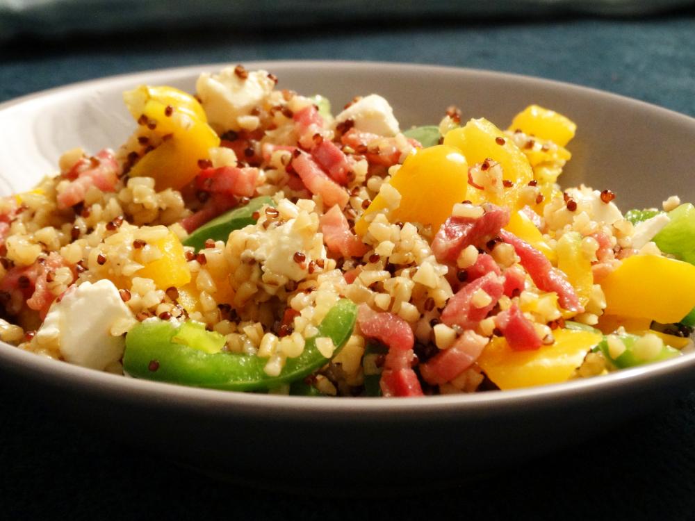Bulgur-Quinoa