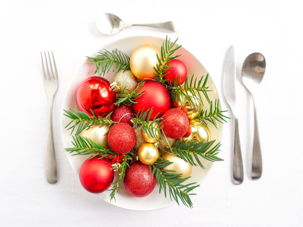Kerstfood voor 1 persoon