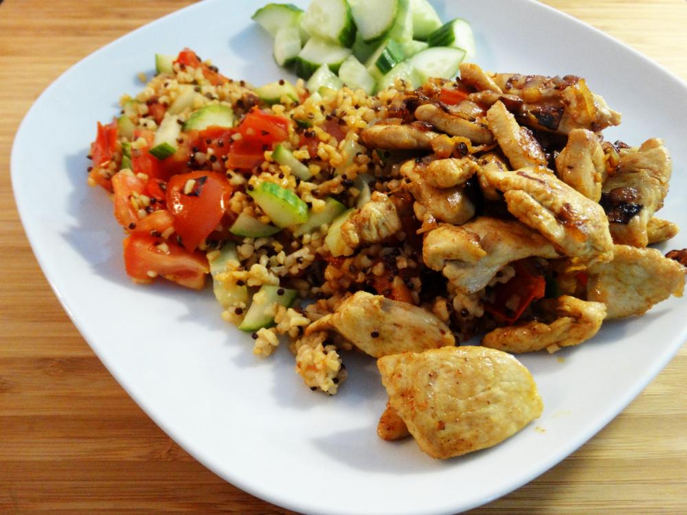 Quinoa-Bulgur Ras el Hanout