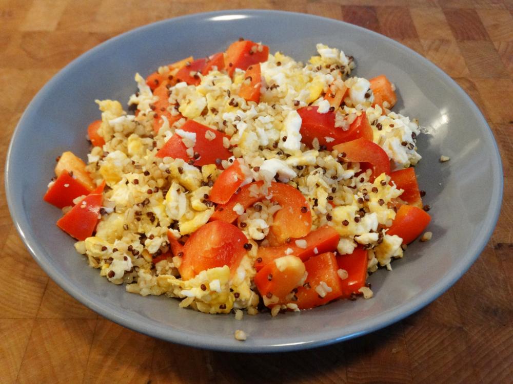 Quinoa-Bulgur Easy Style