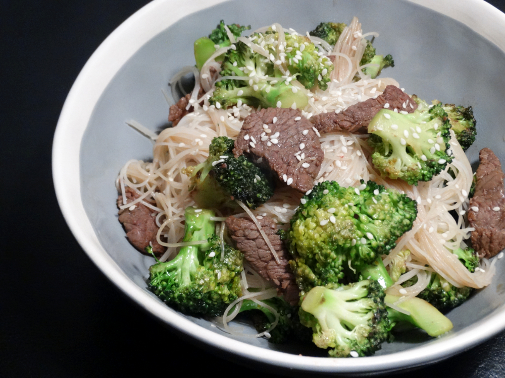Beef Noodles & Broccoli