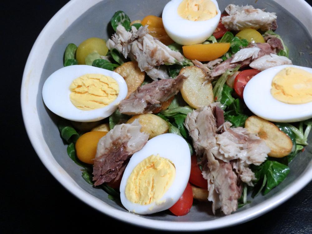 Krieltjes Makreel Salade