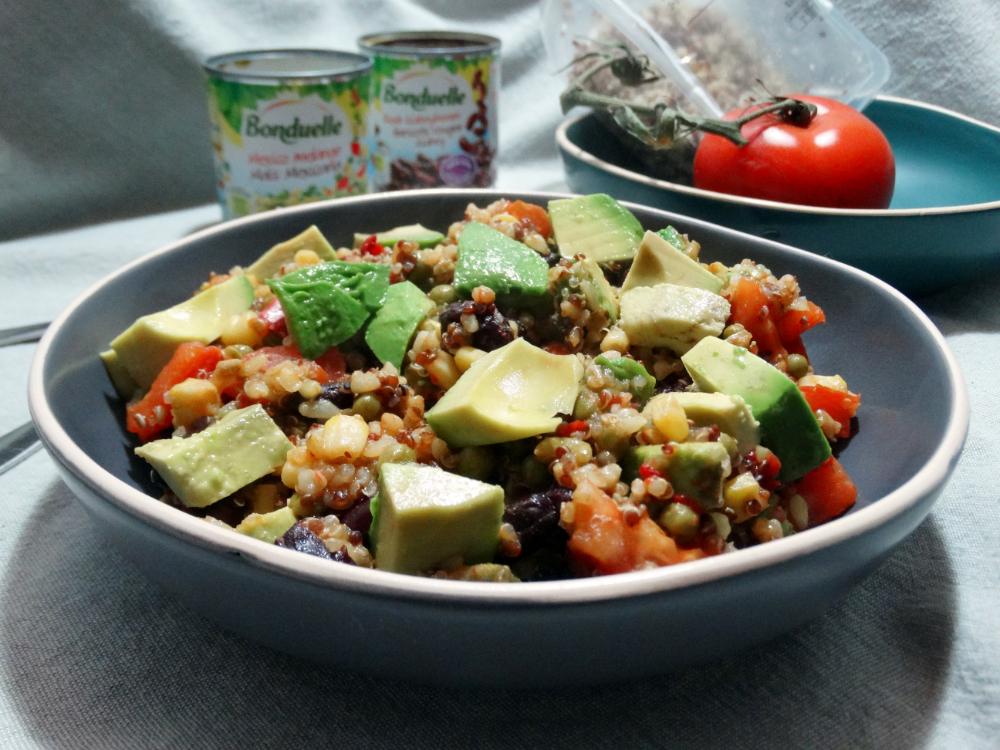 Quinoa-Bulgur